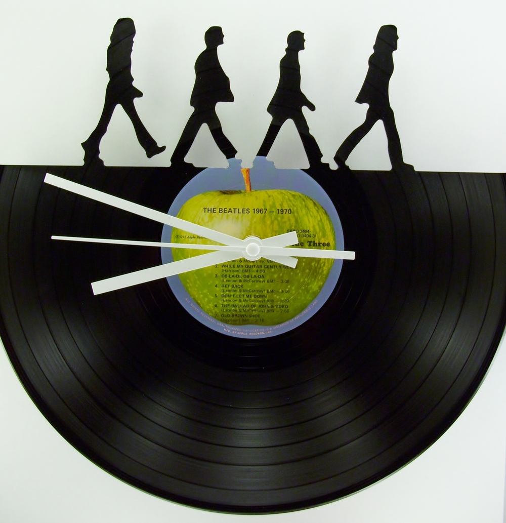 Beatles Record Clock