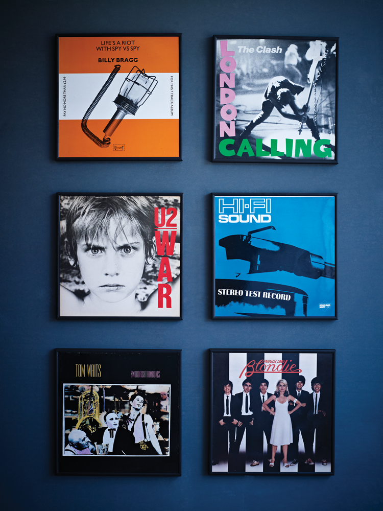 Vinyl Record Covers and Frames