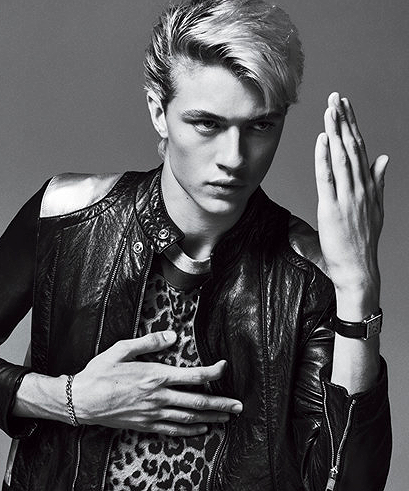 GQ x Lucky B Smith