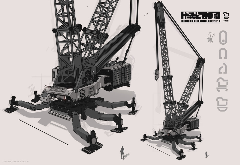 drone crane concept