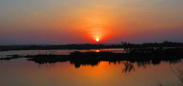 Xingu floden.