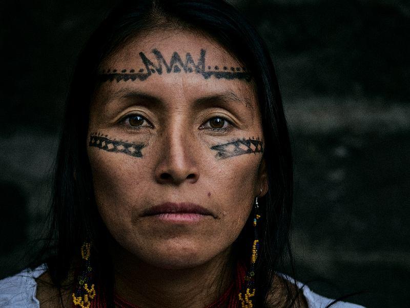 Salomé Aranda, Kichwa från Moretecocha.   Foto: Santiago Cornejo
