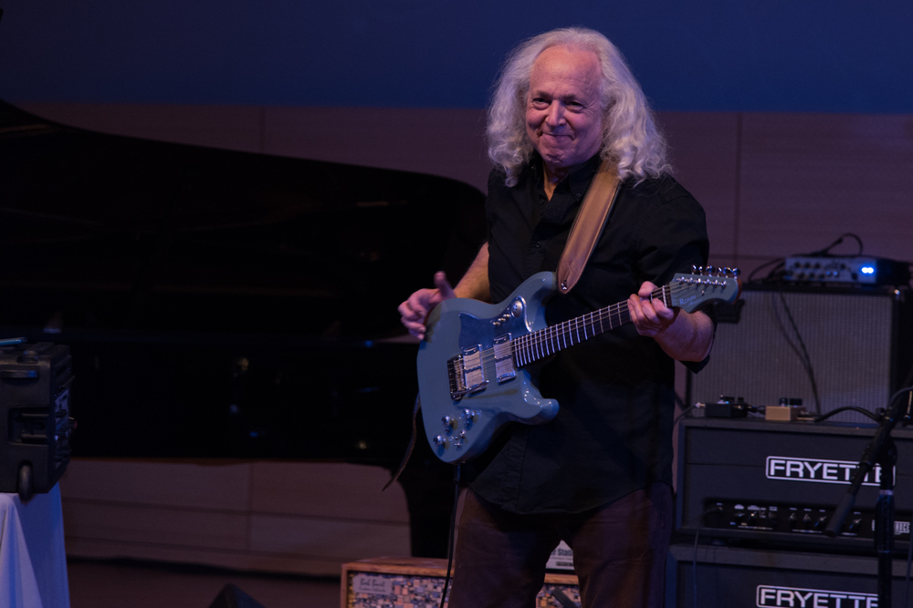 David Torn at the New School Tishman Auditorium - ECM Records Stage on Friday night, January 15.