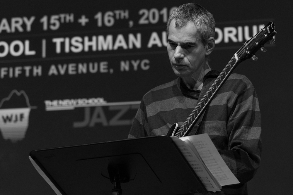 Ben Monder performing at New School Tishman Auditorium - ECM Records Stage, January 16.