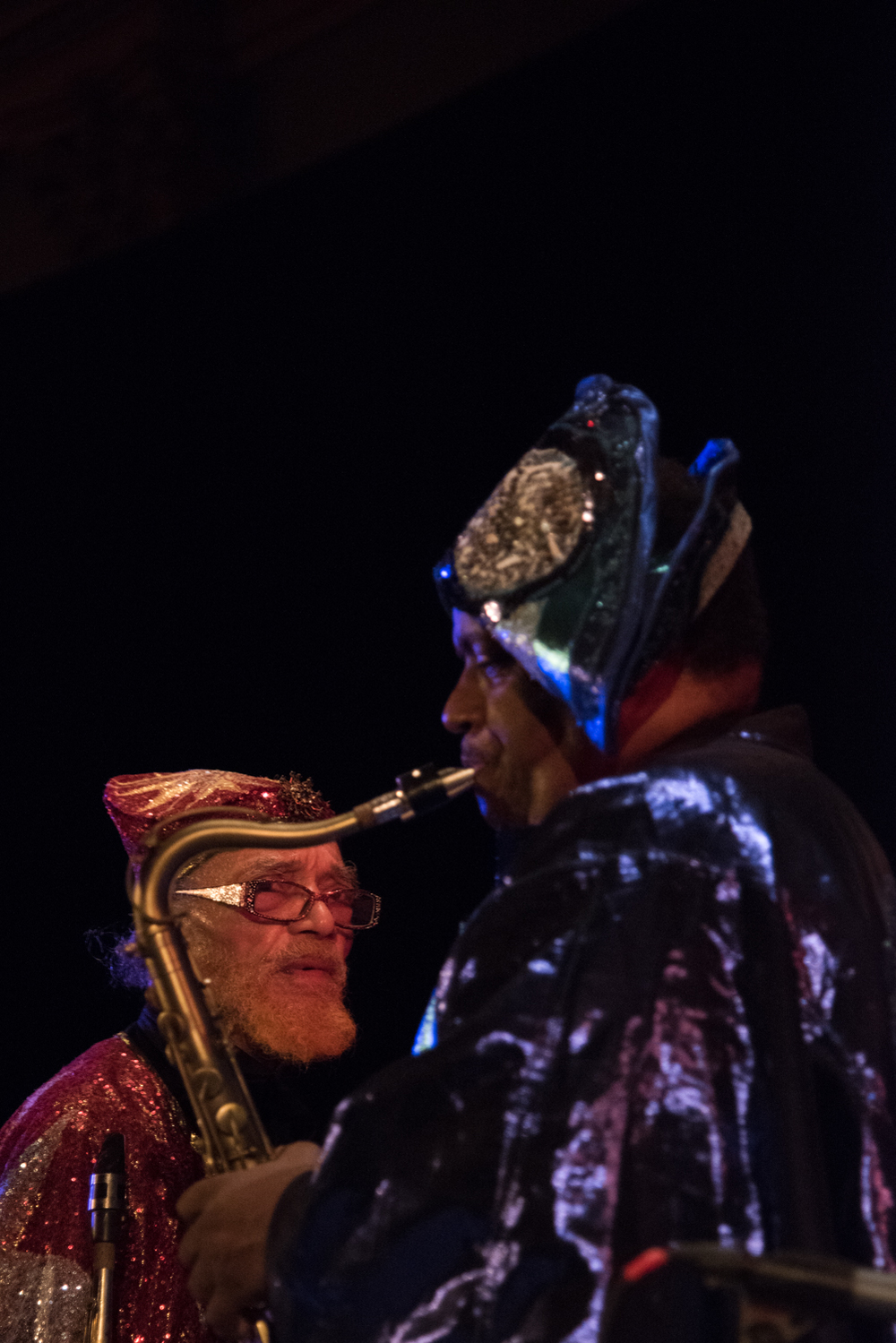 Sun Ra Arkestra directed by Marshall Allen, at Judson Church, January 16.
