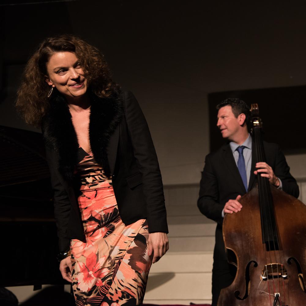 Roberta Gambarini and John Webber
