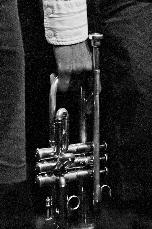 Jonathan Finlayson's trumpet, New York 2015
