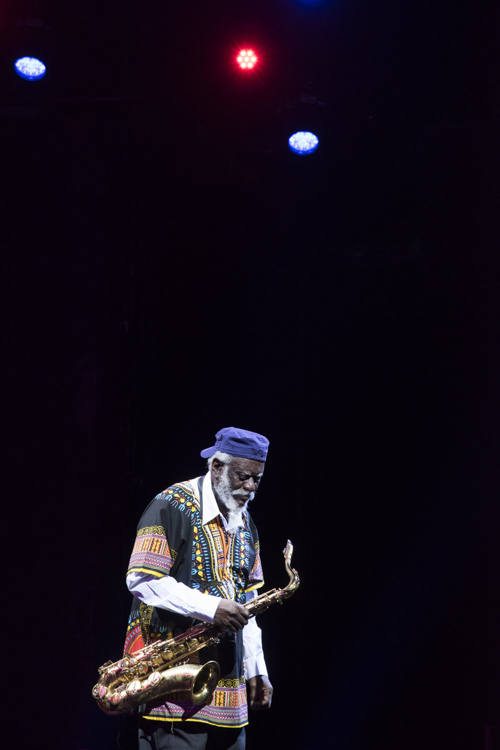 Pharoah Sanders, New York 2017