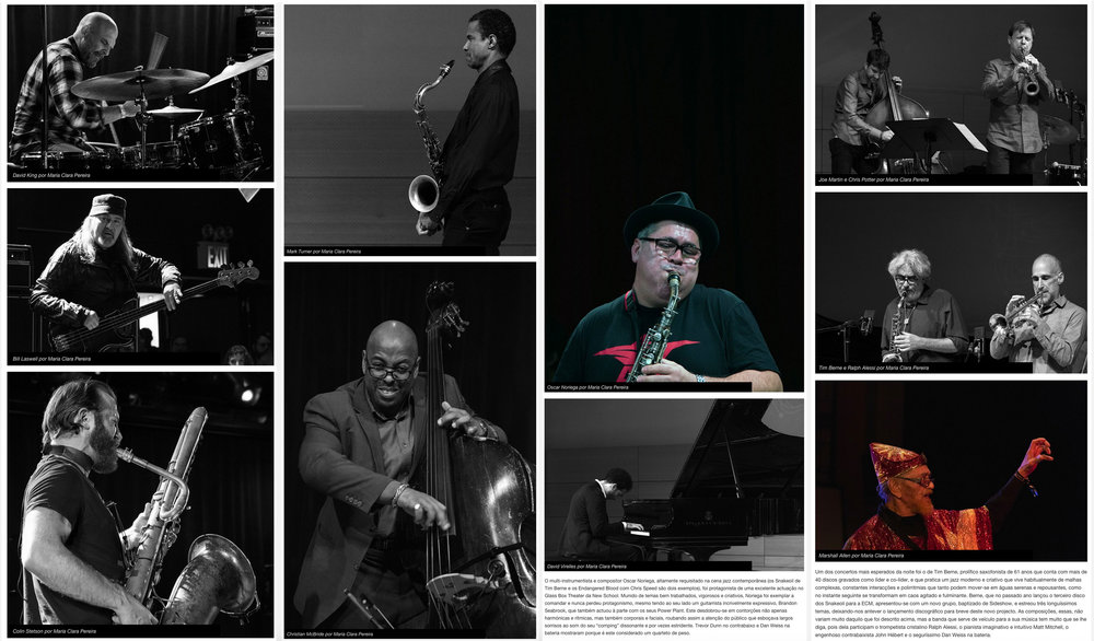 NYC Winter JazzFest - Jazz.pt, 2016