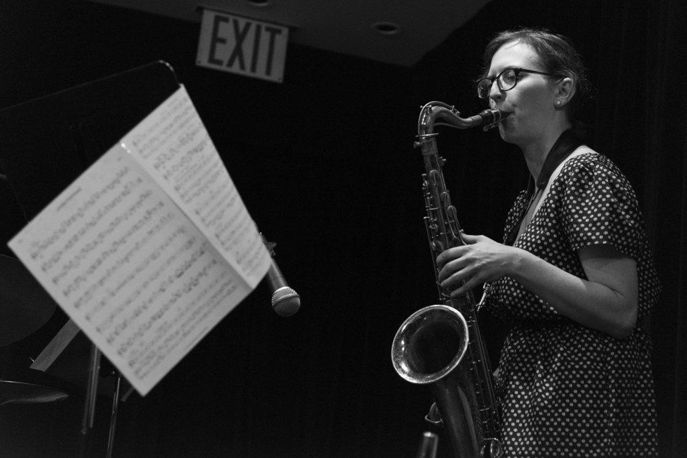 Anna Webber, New York 2017
