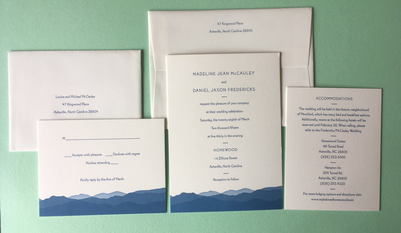 Koch Printing — Wedding Invitations