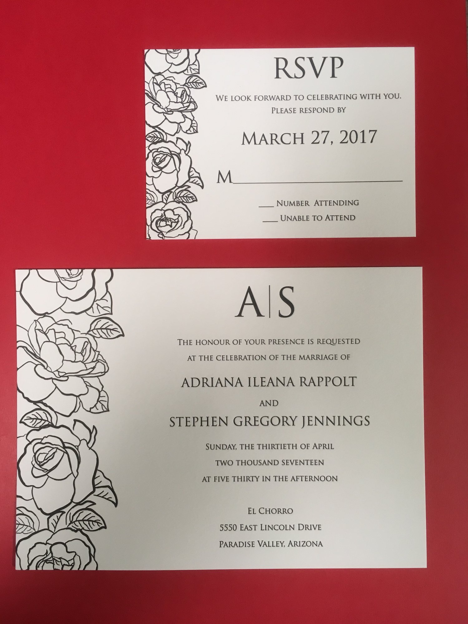 Koch Printing — Wedding Invitations