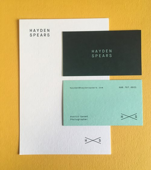 Koch printing letterpress business cards austin texas reheart Images