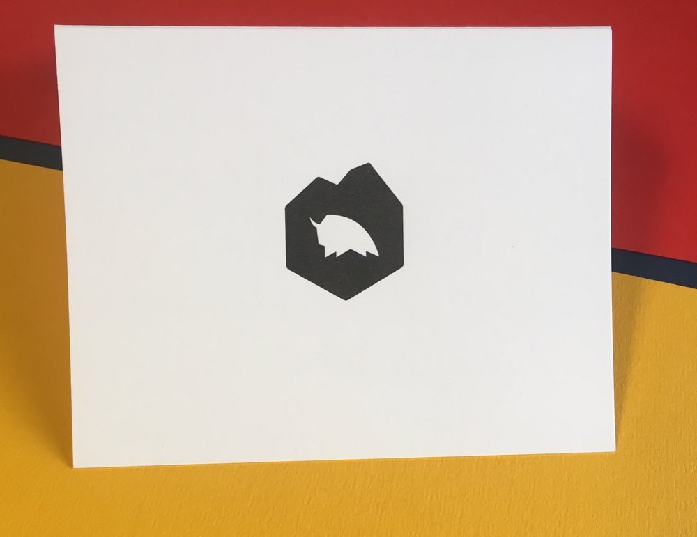Koch printing greeting cards austin letterpress note card dzo design m4hsunfo