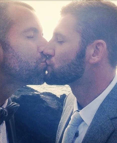 Patrick + Mike #KissProudly
