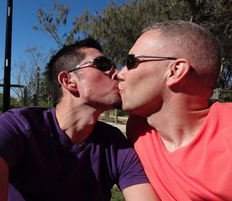 Josh + Kevin #KissProudly