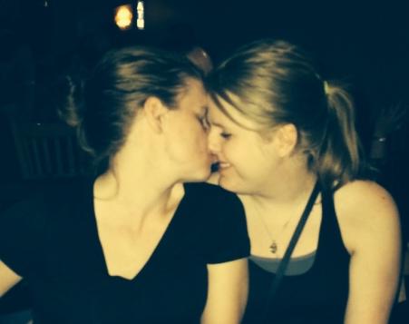 Sam + Allison #KissProudly