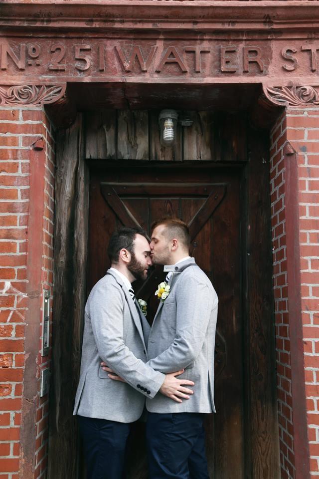 Thomas + JP #KissProudly