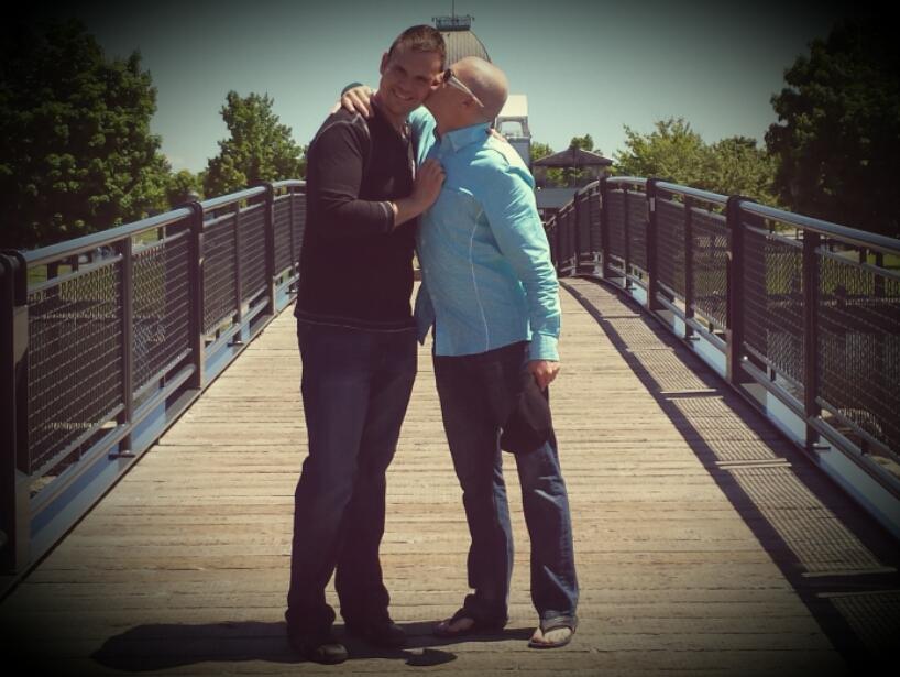 Jeff + Joshua #KissProudly