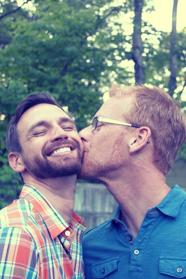 Eric + Michael #KissProudly