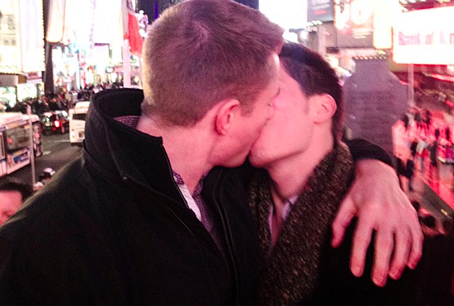Gilbert + Pete #KissProudly