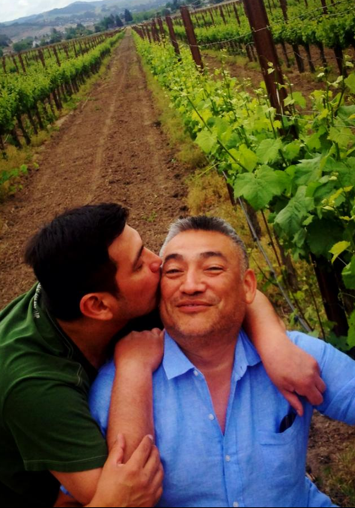 Anthony + Michael #KissProudly