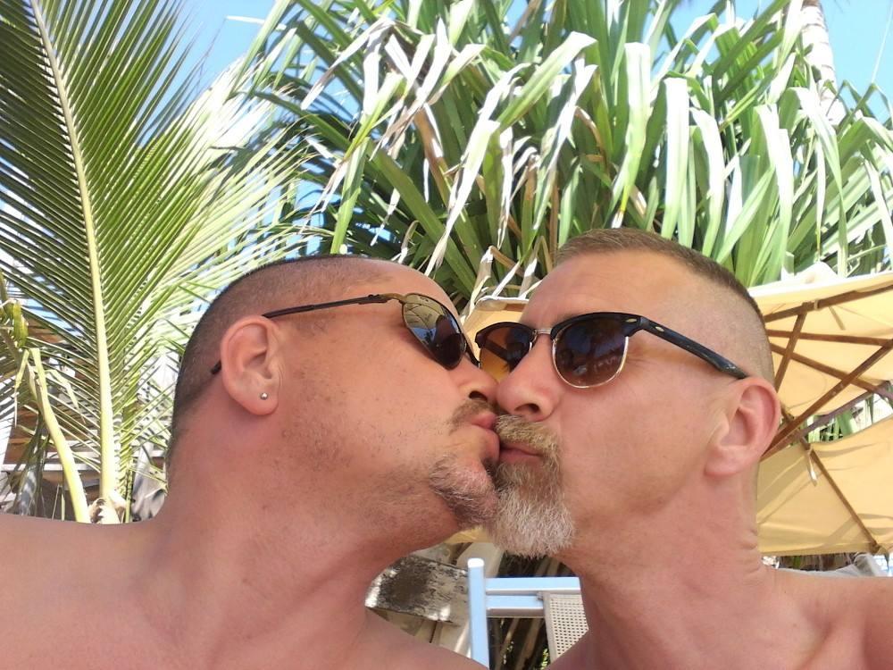 Craig + TJ #KissProudly