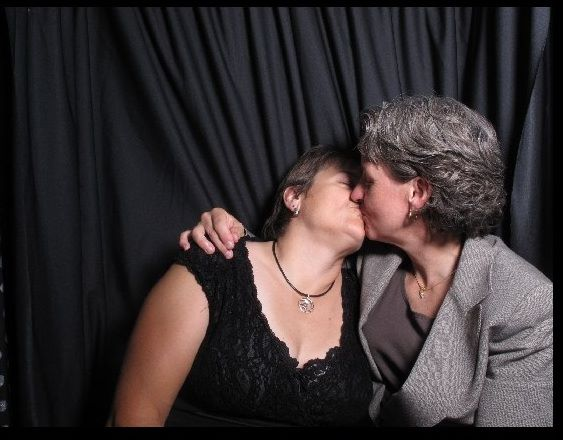 Angie + Nancy #KissProudly