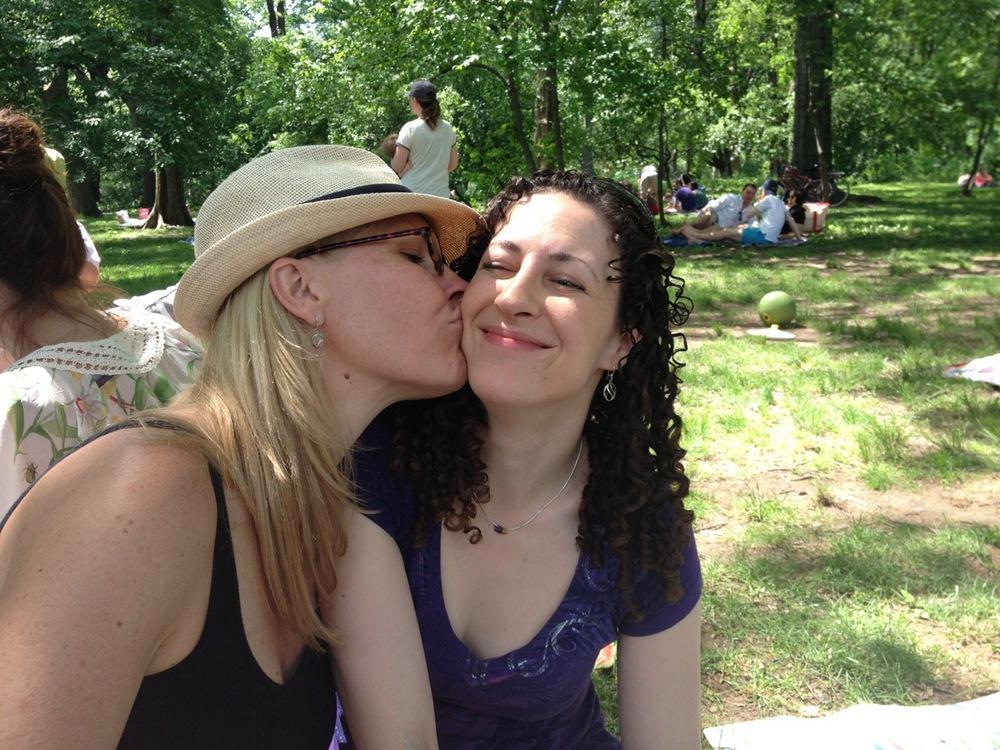 Erin + Kelly #KissProudly