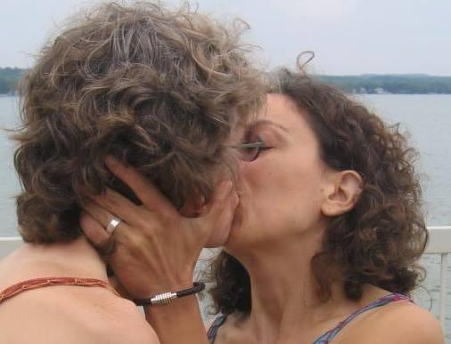 Karin + Deb #KissProudly