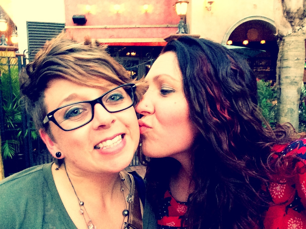 Stacy + Christy #KissProudly