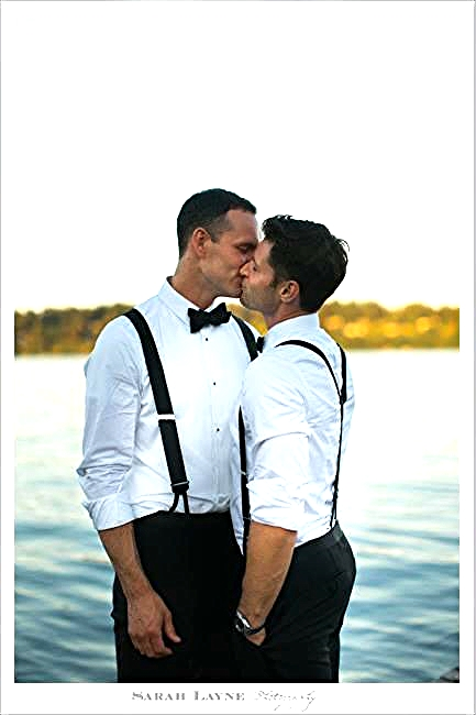 Ty + Bryan #KissProudly