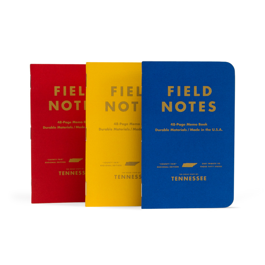 "Field Notes ""Tennessee"" Edition 3-Pack"