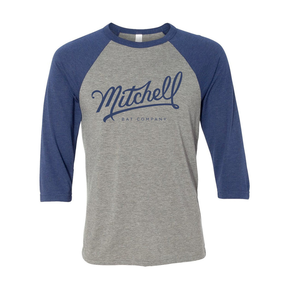 Mitchell Bat Co. raglan tee $28
