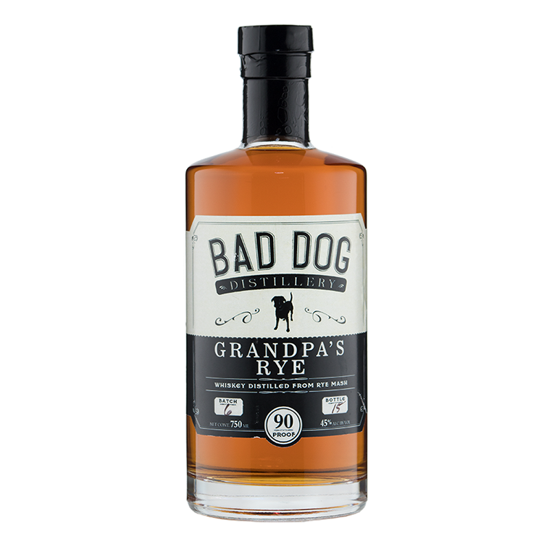 bad dog grandpa rye whiskey png.png