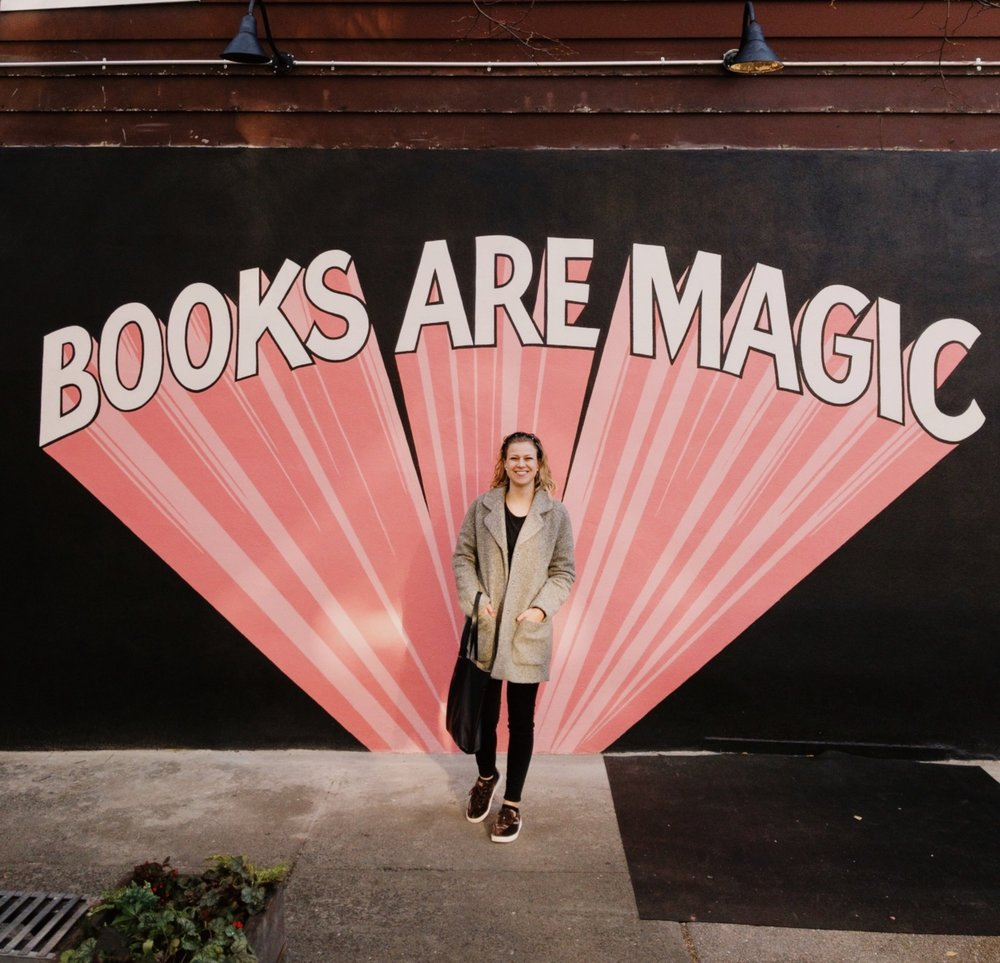 Outside of Books Are Magic Bookstore in Brooklyn, NYC
