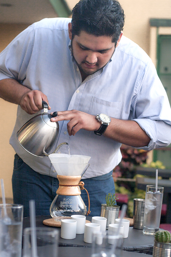 Victor was another new friend we made while in the city.  He owns The Biscuit Factory in San Salvador.  His cafe not only offers delicious coffee  with several different brew methods, including siphon, but they also make tasty little pastries.