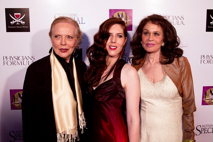 "Barbara Bain, Julia Garcia Combs and Karen Black at the Laemmle's Music Hall Premiere of ""Nothing Special"""