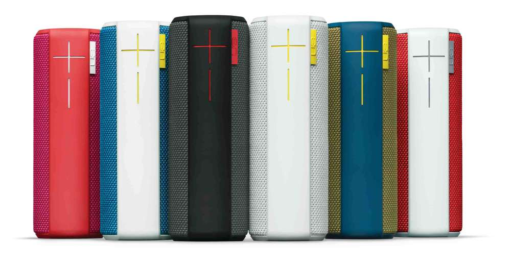 The UE Boom in all 6 colors.