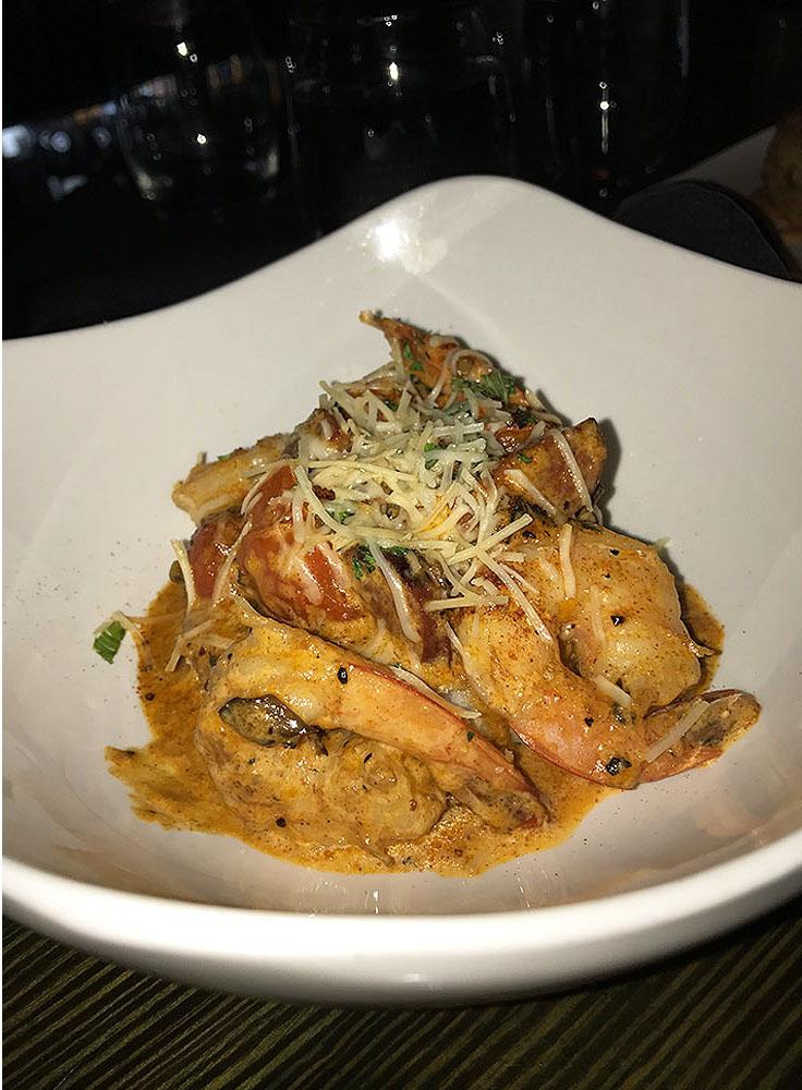 Savannah Blue Shrimp & Grits