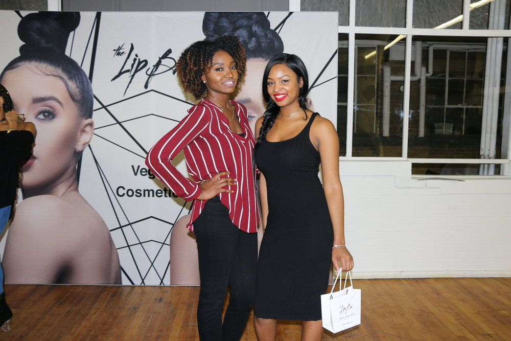 Pictured with Hair & Lifestyle Blogger & Youtuber @Nae2curly