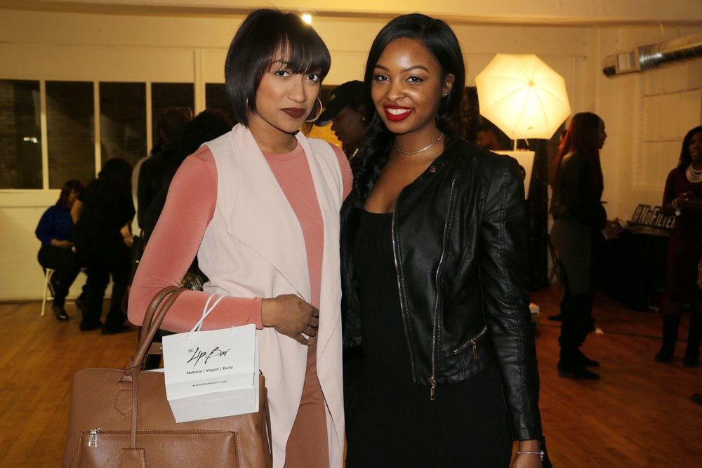 Pictured with Beauty & Spa Owner @beesbeautybarspa