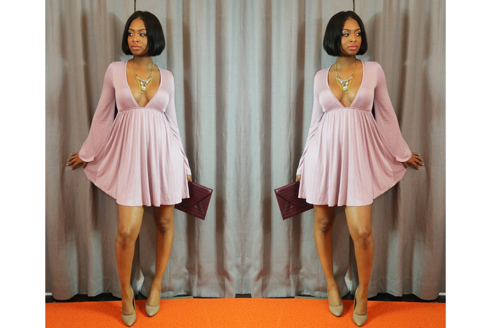 Fashionably Late - Mommy In Mauve