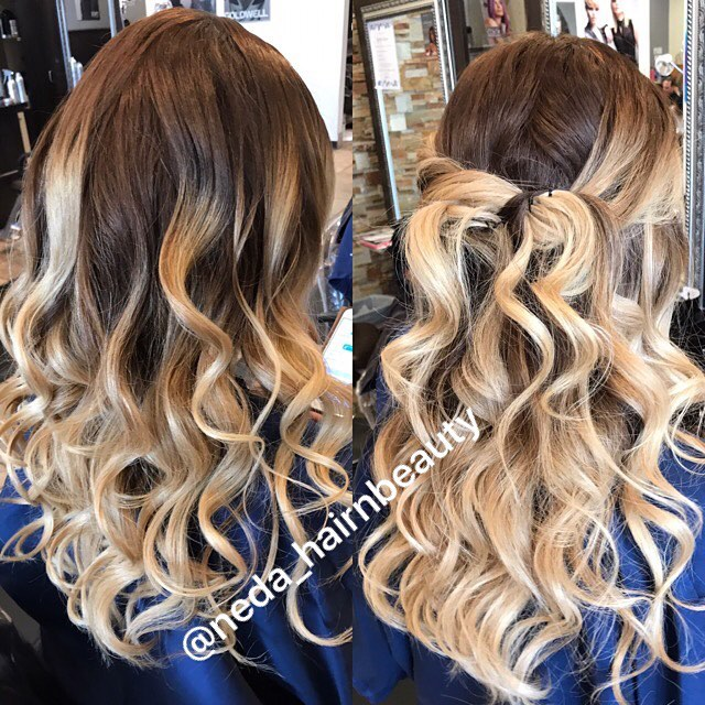 Curls & Style by Neda! 💛#beauty #curls #americansalon #modernsalon #hairstyles #hairconcept2000 #woodlandhills #longhair