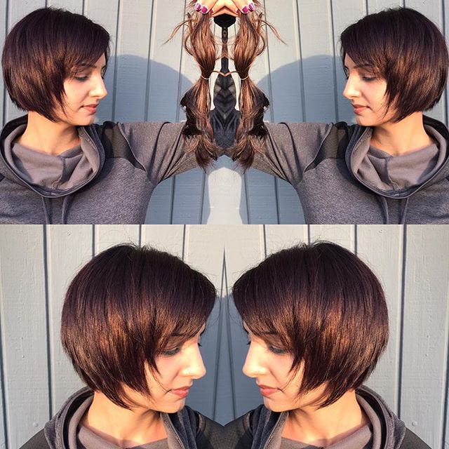 Haircut by Julie ✂️ #haircut #transformation #shorthair #americansalon #modernsalon #hairconcept2000 #woodlandhills #beauty