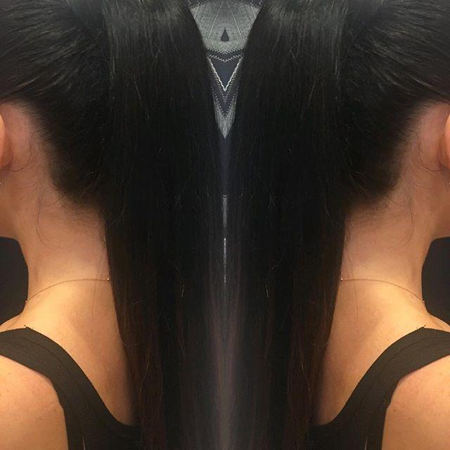 Ponytail by @xxoxsammi #ponytail #updo #modernsalon #americansalon #hairconcept2000