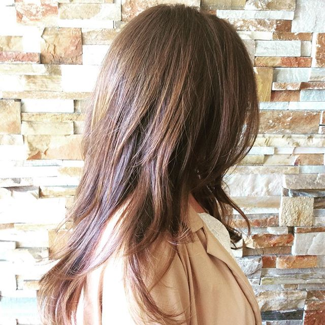 Lowlights for the upcoming summer ☀️ #lowlights #longhair #summer #modernsalon #americansalon #hairconcept2000 #woodlandhills #hairbyveesun