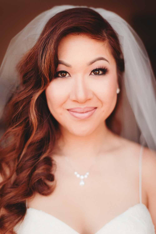 anita on her wedding day