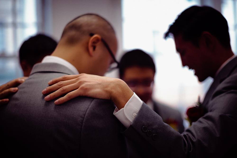 The Boys Praying