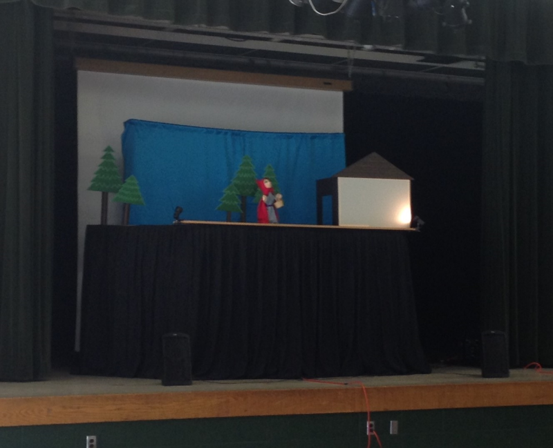 Little Red Riding Hood performance